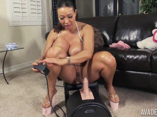 Ava Devine in Humps Sybian saddle