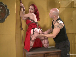 Cockslut In Crimson Berlin Derrick Pierce - BDSM,Humiliation,Torture HD 720p