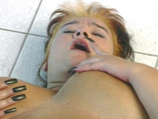 Gang plowing of fatty cockslut