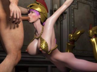 Rebecca Onslaught Hell - Gladiator of Treason
