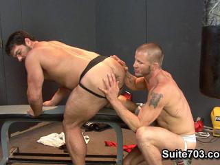 Super-fucking-hot Jocks Nice Fuck-sticks - Brenn Wyson & Vince Ferelli