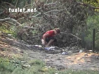 Urinating Hidden cam Outdoor Spy 76 (2009)