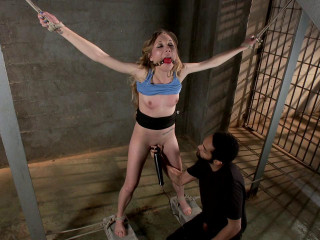 Tiny Tart Takes Ginormous Spunk-pump Emma Haze Mickey Mod - Bondage & Discipline HD 720p
