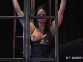 Holly Heart tough ass-fuck BDSM