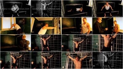 Gay BDSM Bodybuilder Vasily in Jail - Part I
