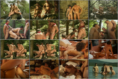 Czech Orgy Outdoor