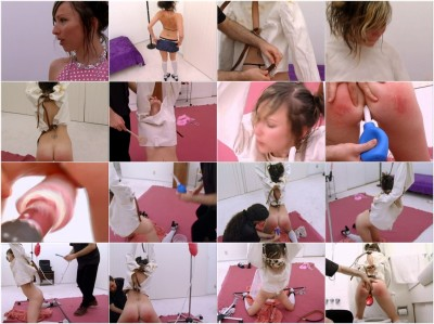 [A Wizard Of Ass]Submissive Traning For Ruby Enemas Paddling Straitjacket And More