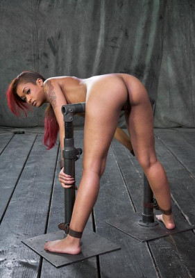 Ass Out And Throat Ready, Skin Diamond Bent Over, Bound And Roughly Fucked , HD 720p