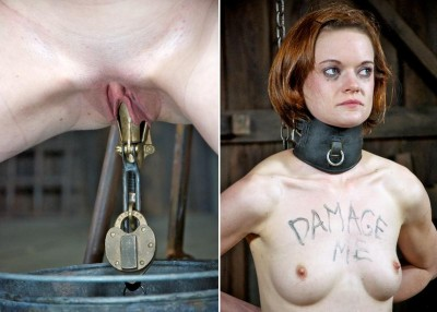 bdsm Cuntwalk Part 2 - The metal pear inside of her ass and pussy