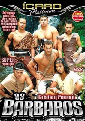 Os Barbaros aka The Barbarians Cover Front
