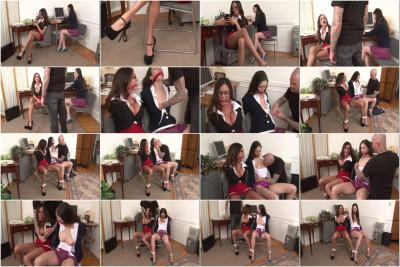 Angelica and Ariella - Office Bondage Captives