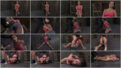 Hot Latina Jynx Maze suffers Bondage is Deep Throated & Fucked Hogtied & Made to Cum