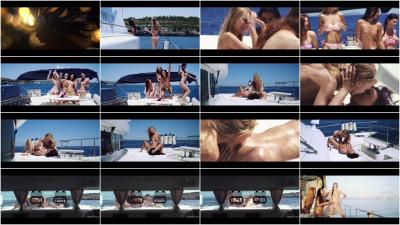 Margot A, Nancy A, Rosaline Rosa - Party Boat Part 1 FullHD 1080p