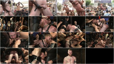 Gay BDSM Cass Bolton is a Folsom Street Fair Whore