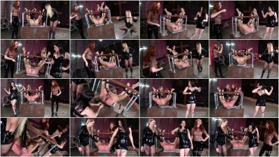 Alexandra Snow, Kendra James, Lexi Sindel — Spread Wide and Beaten Red