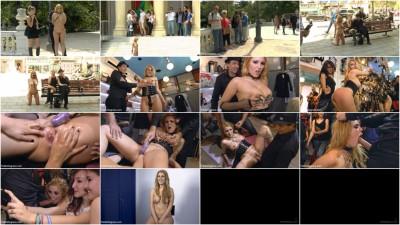 Fully Nude Bondage Slut Services Public Disgrace