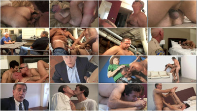 "Exclusiv Collection ""Older 4 Me"" Gay - 50 Best Clips. Part 2."