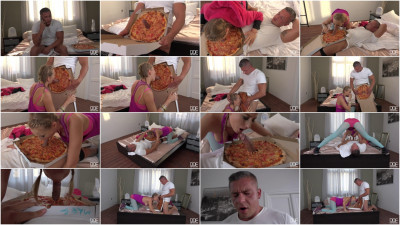 Kiki Cyrus - Delicious Pizza Topping - Delivery Girl Wants Cum in Mouth FullHD 1080p