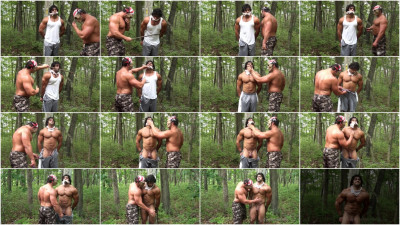 Gay BDSM BAndBound - Corleone - Back Woods Bondage