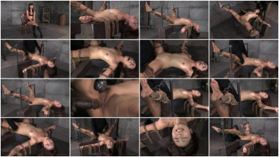Marica Hase Roughly Fucked By 10 Inch BBC In Strict Bondage, Cums Hard And Fast