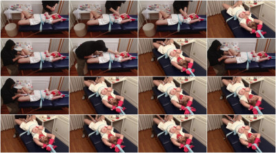 Bound and Gagged - Gagging Nurse Boobie  Part 2 - Vibrator Bondage Orgasm for Lorelei