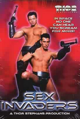 Sex Invaders Cover Front