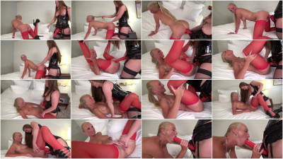 Femdom and Strapon Kacy Kisha and Queen Lissandra - Fuck Me My Queen