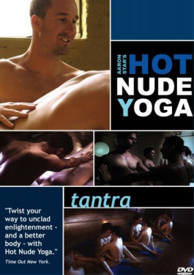 Aaron Stars Hot Nude Yoga - Tantra Cover Front