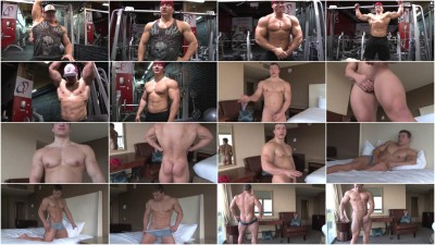 Pumping Muscle - Teen Bodybuilder Jacob M Photoshoot 2