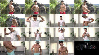 EastBoys Muscle Flexing and Workout - Petr Brada