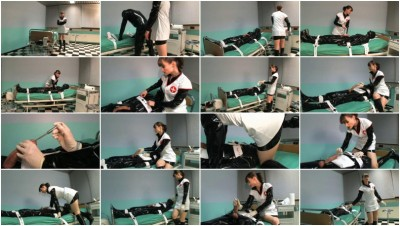 Lady Cheyenne de Muriel   Pervy examination by the nurse Part1