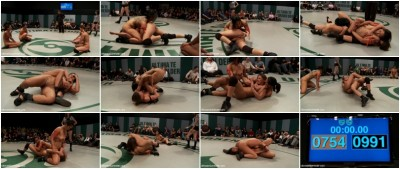 Round 2 of January's Live match:The Dragon is humiliated, sexually destroyed, cums on the mat!!
