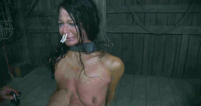 Hot girl loves hard BDSM