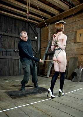Slave on the walk