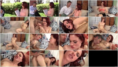 Suave frenchman seduces hot co-worker Jessica Ryan