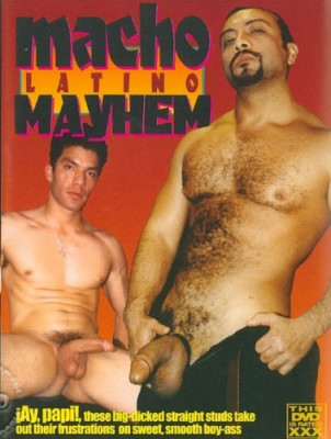 Macho Latino Mayhem Cover Front