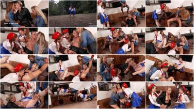 Leather and Denim and Silk and Piss...Nicole Vice, Isabella Livi, Silvia Dellai, Siddi (2015)