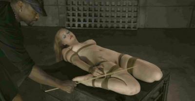 Sexy Blondie In Bondage
