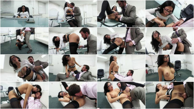 Creampied in the Office [SD /28.11.2015]