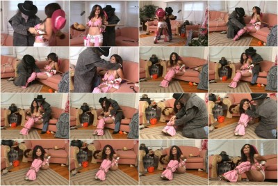 bdsm Bound and Gagged - Cowgirl Groped - Ashley Renee