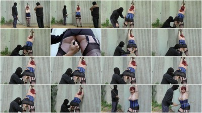 Torture for pussy and ass plus tits spanking