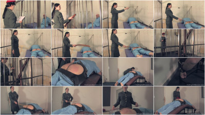 Prison Caning Bench - TheEnglishMansion