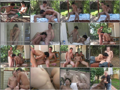 Anal Party With Teen Twinks