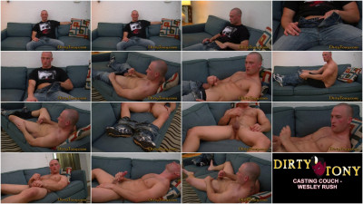 Casting Couch: Wesley Rush (tattoos, casting couch, video)