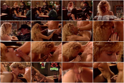 Blond Bar Slut Alex Sucks Cowboys Cock