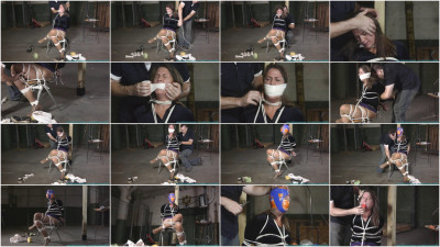 Cherry Velvet Grabbed, Spanked, and Gagged Over and Over - Part 2