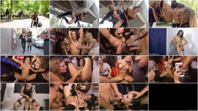 Perky Carolina Dragged Through Crowded Park & Fisted in Dirty Club