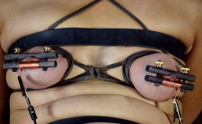 The alligator clips for nipples
