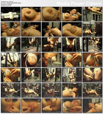 Hellish torture for hot slave