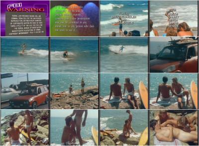 Surfer Blue